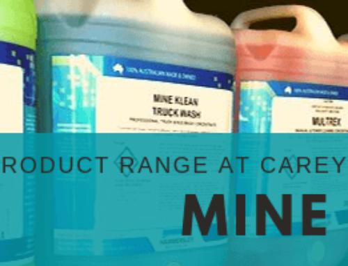 Mine Klean Product Range