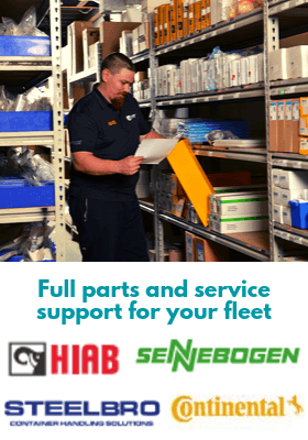 Carey Quick Parts - HIAB, Sennobogen, Steelbro, Continental. Full parts and service support for your fleet.