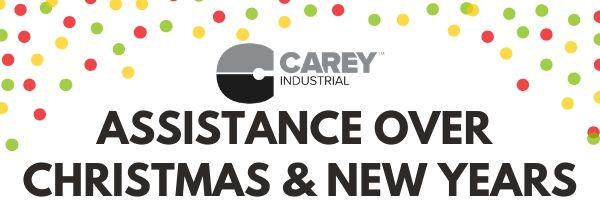 Carey Industrial 2019 Christmas & New Years Trading Times
