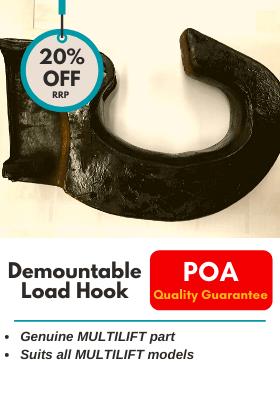 Demountable Load Hook - MULTILIFT