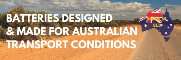 Century Batteries are designed and made for Australian Transport Conditions.