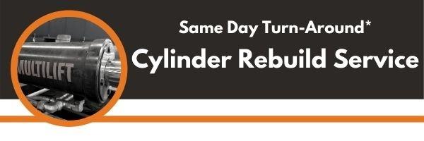 Same Day Turn-Around Hydraulic Rebuild Service*