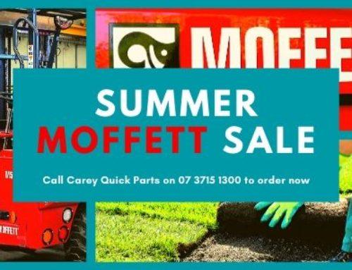 Summer Moffett Parts Sale