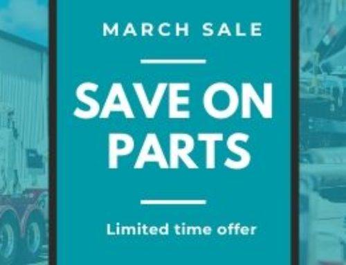 March Quick Parts Sale