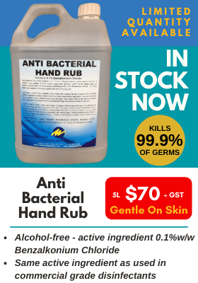 Anti-bacterial Handrub