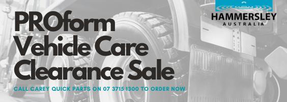 PROform Vehicle Care Clearance Sale