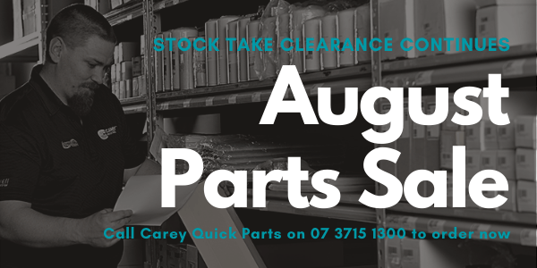 Carey Quick Parts August Sale 2020