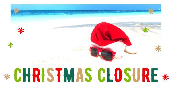 Christmas 2020 Closure