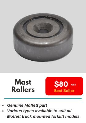 Moffett Mast Rollers