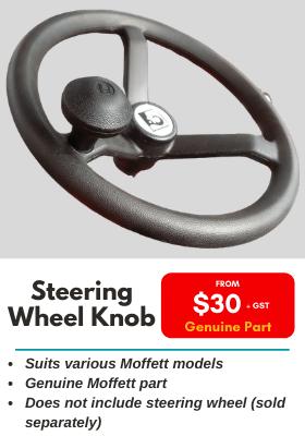 Moffett Steering Wheel Knob