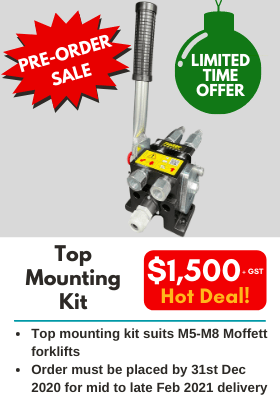 Top Mounting Kit for Moffett Forklifts