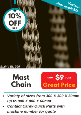 Moffett Mast Chain