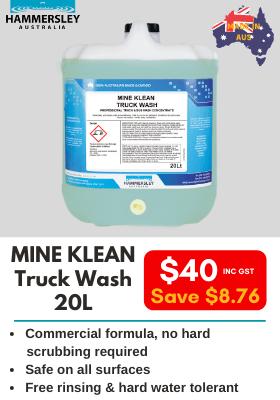 Hammersley Mine Klean Truck Wash 20L