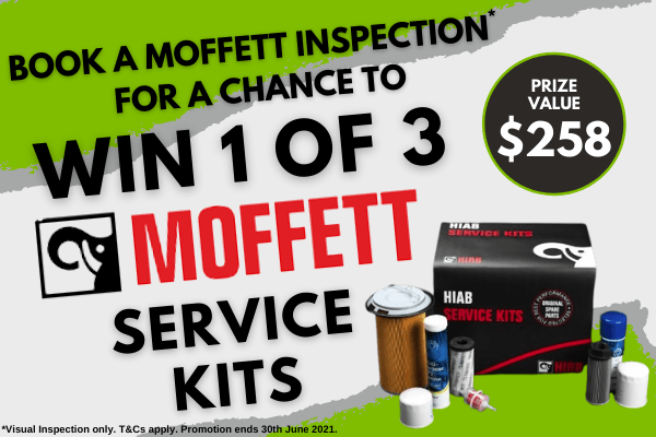 Win 1 of 3 Moffett Service Kits