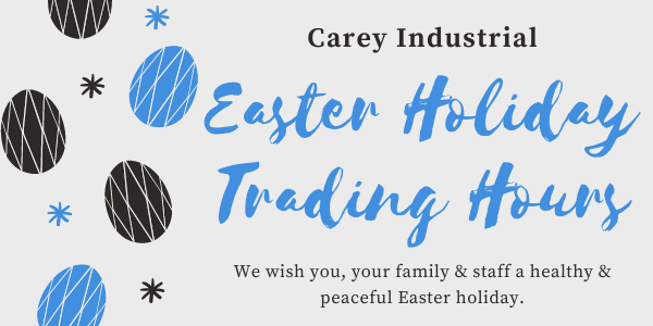 Carey Industrial Easter 2021 Trading Hours