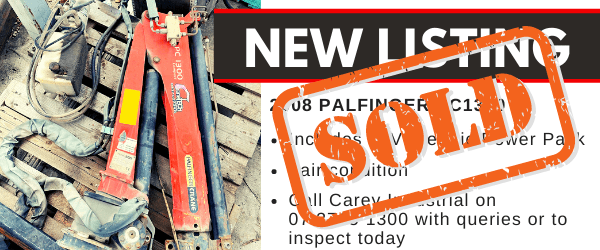 Sold Palfinger Vehicle Loading Crane